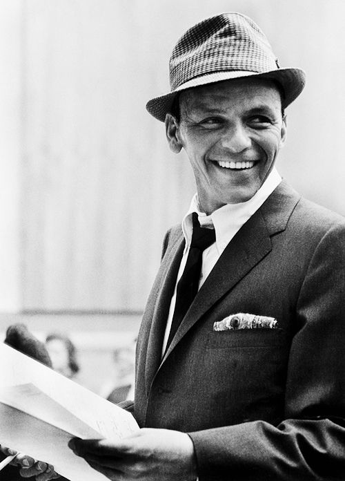 Frank Sinatra - So swag with the tilted fedora. (   c46d2247c24