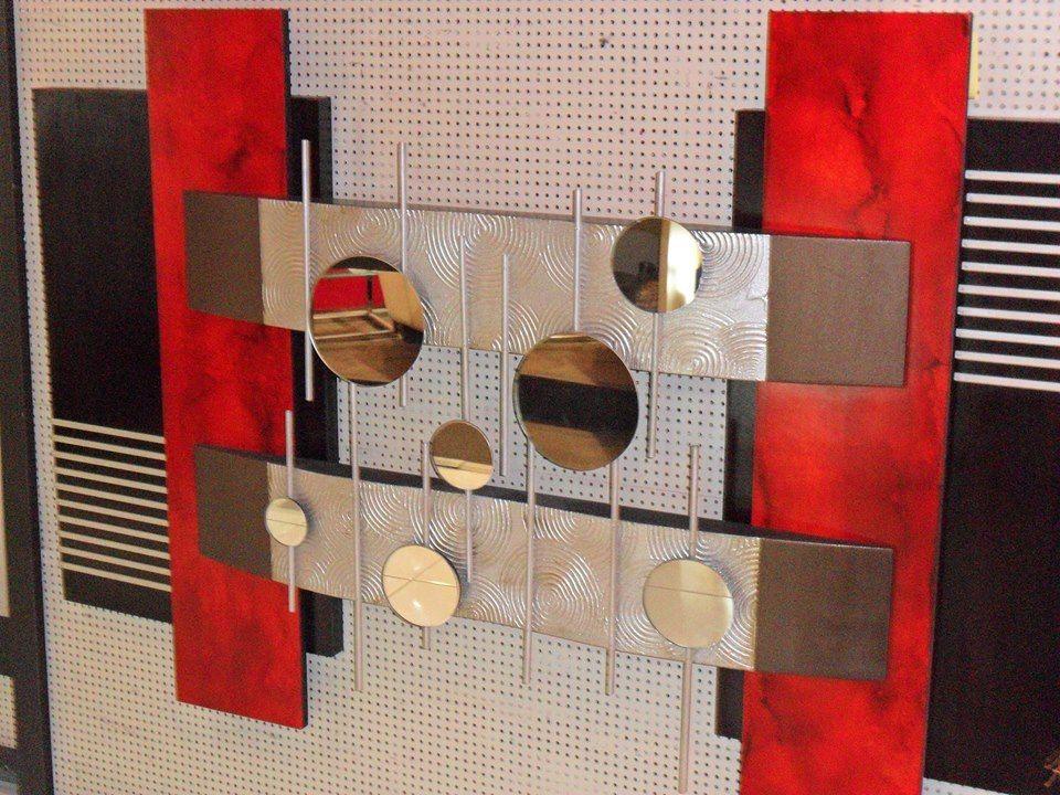 cuadros decorativos estilo minimalista y espejos