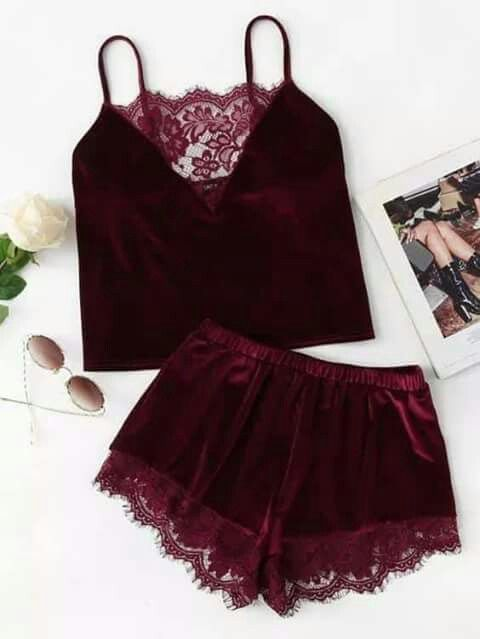 66c361944437 Wine 🍷 colored ensemble