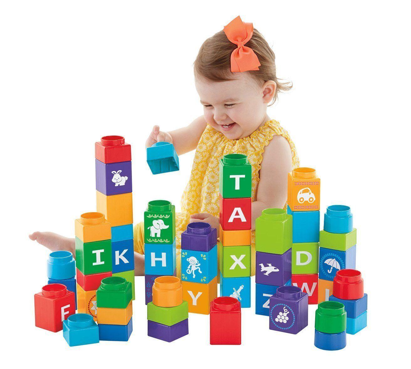 Robot Check Alphabet Blocks Learning The Alphabet Learning Toys