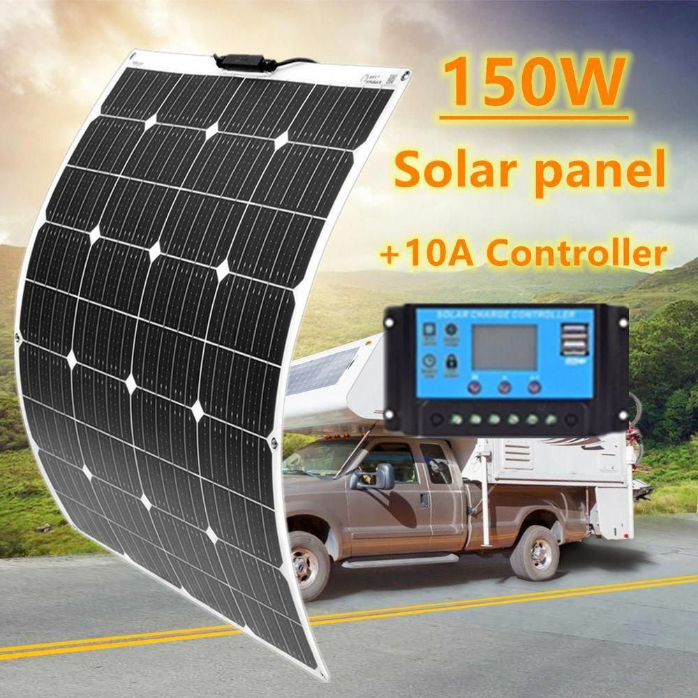Best Alieexpres Product Free Shipping And Discount 17 For New 150w Flexible Solar Panel 100w Perc Solar Cell In 2020 Solar Panels Flexible Solar Panels Solar Charger