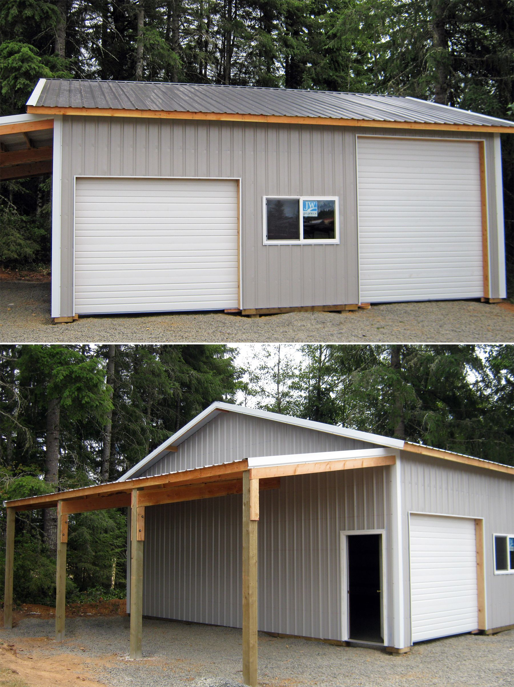 how to build a lean to off a shed