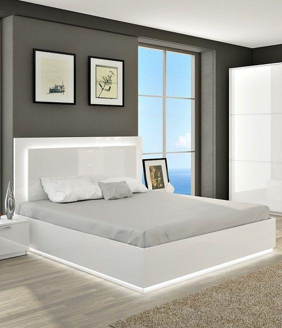 De Aura is een zeer moderne bed en is gemaakt van mdf. De bed is ...