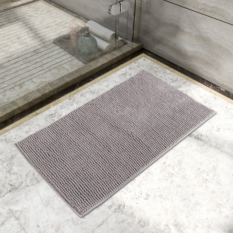 Tapis Salle De Bain Super Absorbant ~ lifewit tapis de bain absorbant antid rapant 80cm x 50cm tapis de