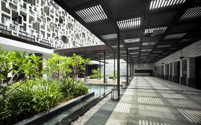 Green Intercontinental Resort in Sanya, Hainan, China by WOHA