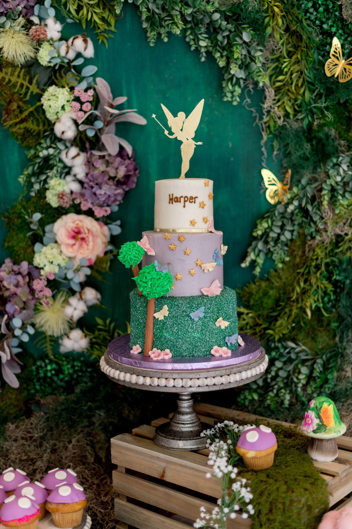 Fairy garden inspired birthday party in 2020 fairy