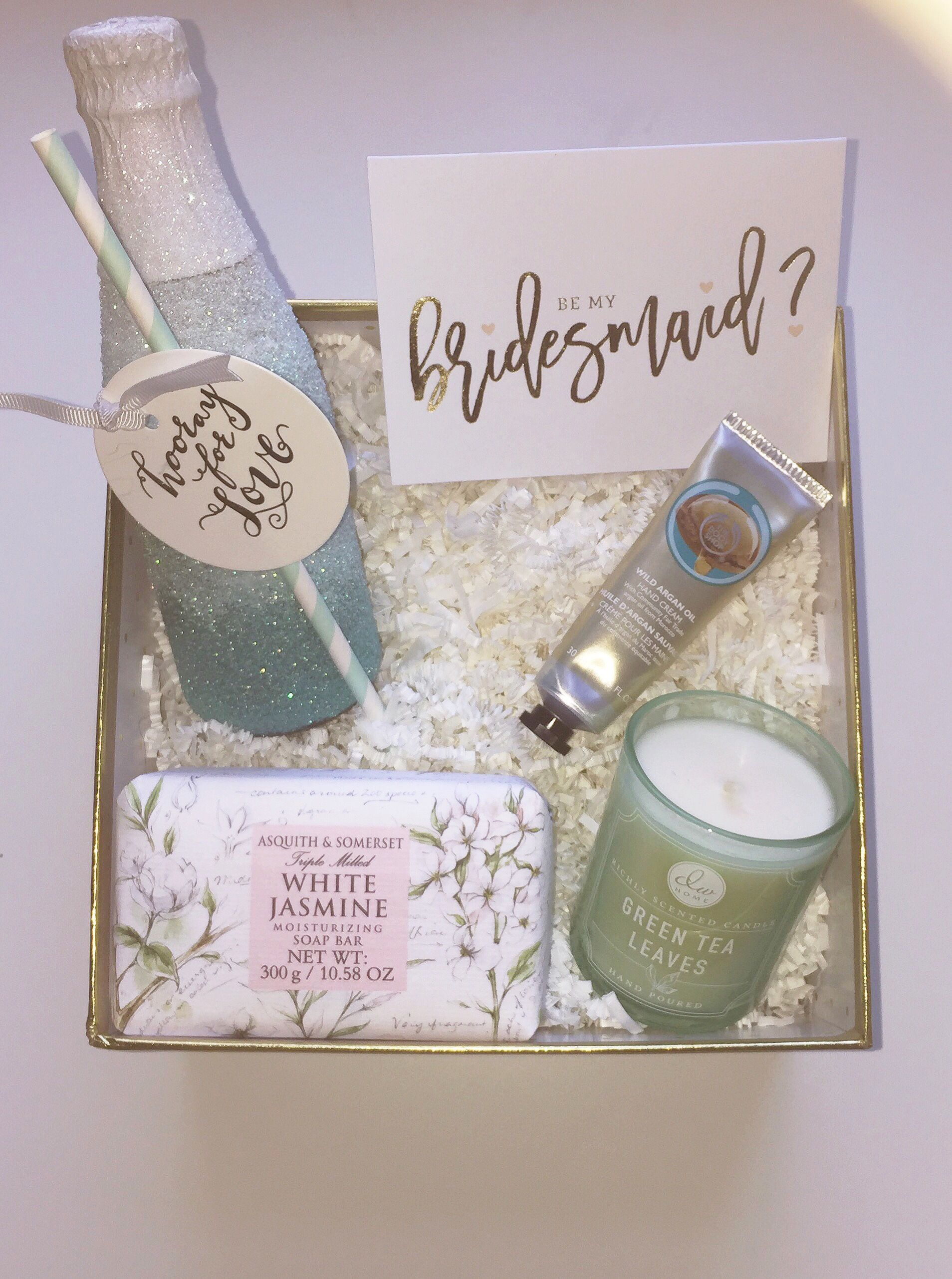 #Diy bridesmaid gifts I made. Glitter bottle & Diy bridesmaid gifts I made. Glitter bottle | Be My Bridesmaid ...