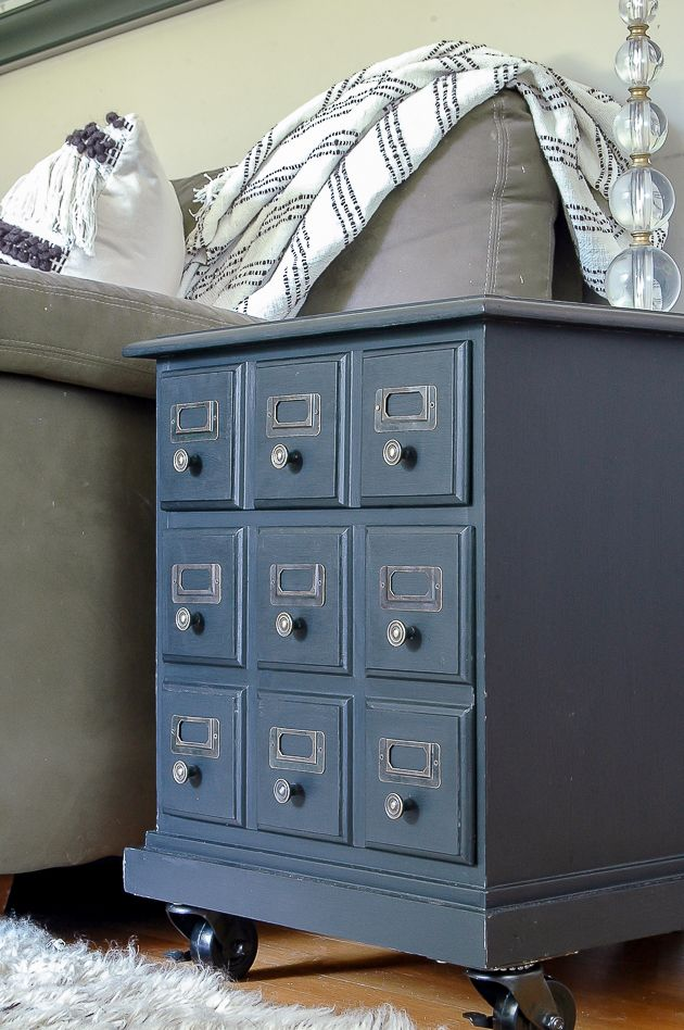 how to update a goodwill table into a card catalog