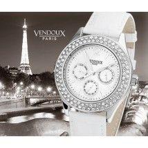 Pont de Sully, zomers horloge uit edelstaal - Vendoux Exclusive
