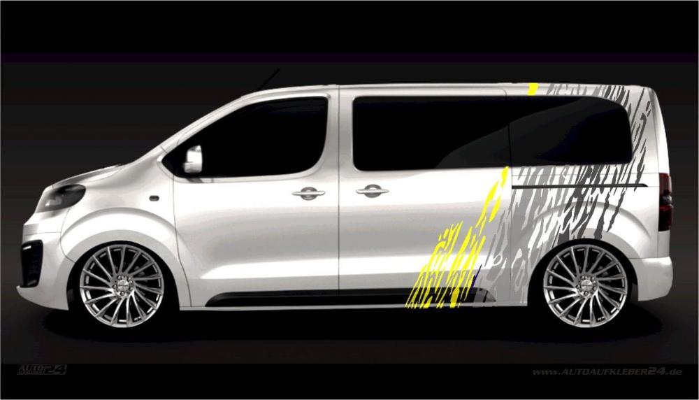 Aufkleber Opel Zafira Life Movano Vivaro Combo Transporter In 2020 Transporter Aufkleber Autofolierung