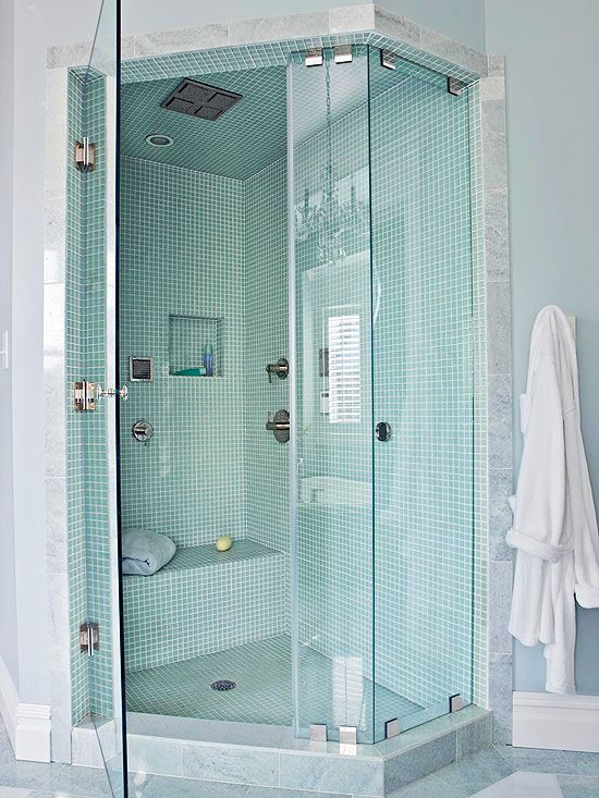 Absolutely Stunning Walkin Showers For Small Baths  Corner Bath Cool Small Bathroom With Shower Ideas Inspiration Design