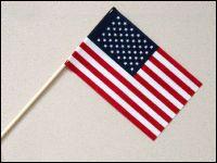 Economy Cotton U S Stick Flags 6 X9 Flag Patriotic American Flag