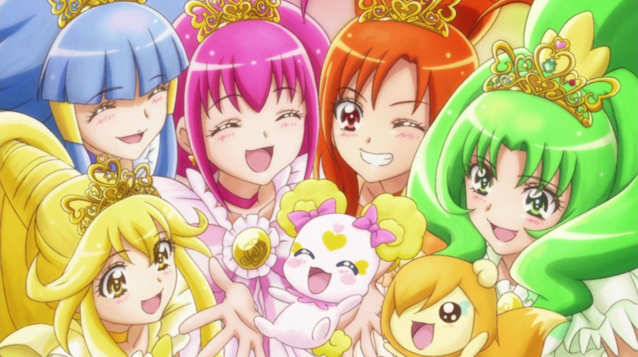 Princess Wand Power Glitter Force + Candy and Pop