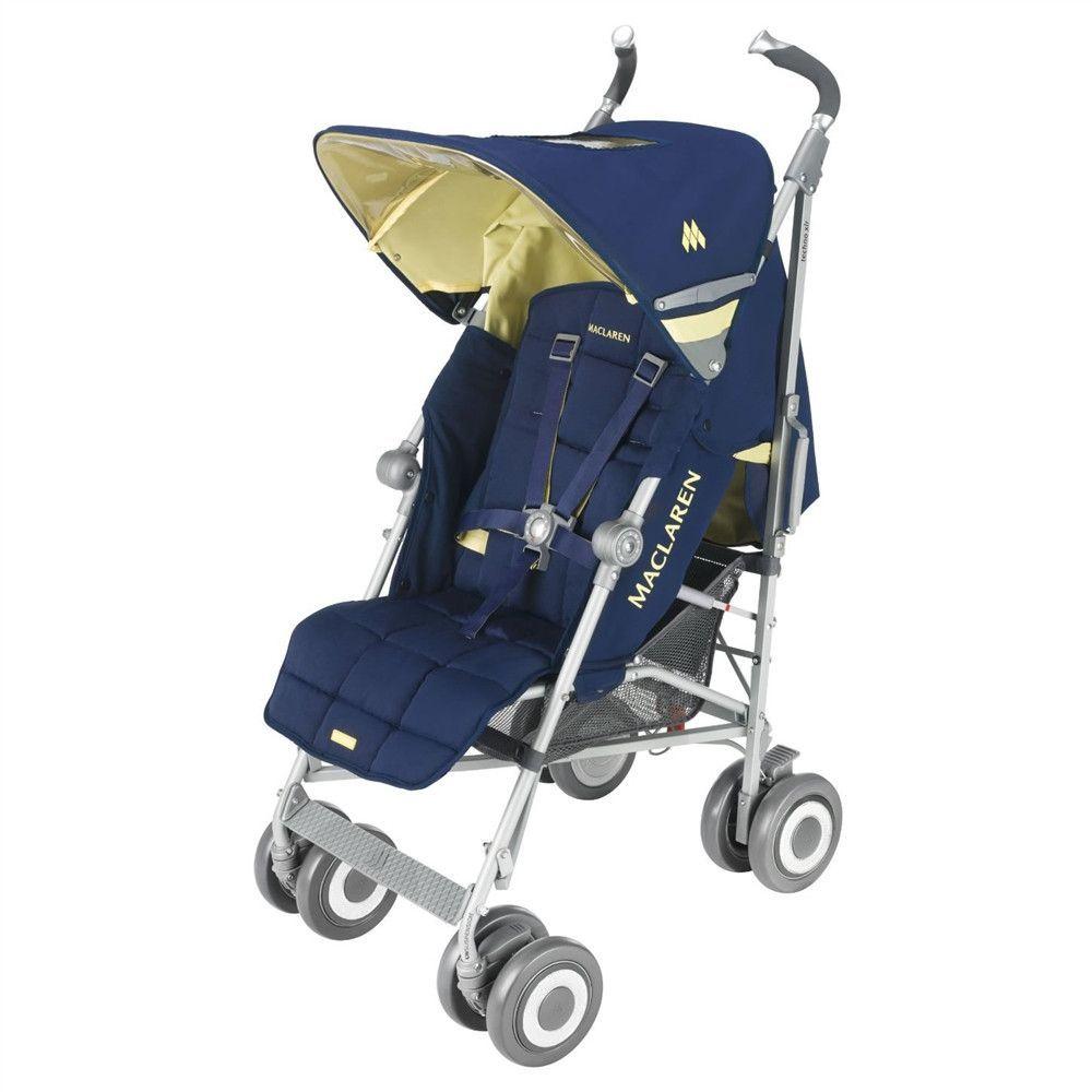 Maclaren Techno XLR Stroller Medieval Blue/Lemon without