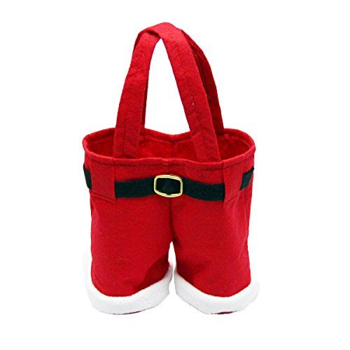 boutique1583 Santa Pants Shape Candy Gift Bag Christmas Decoration ** Read more at the image link.