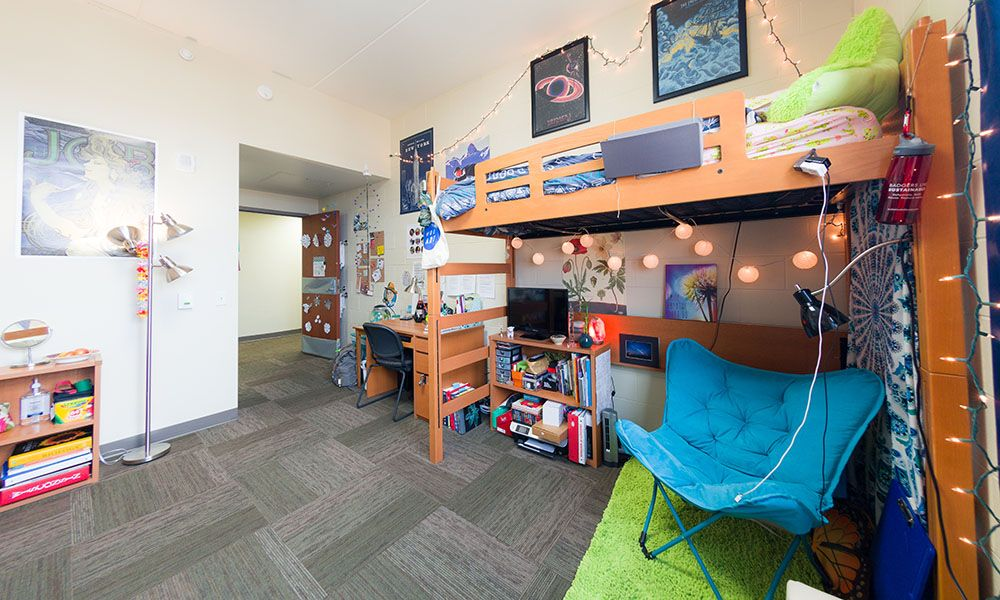 Leopold Hall Uw Madison Housing Best Room Contest Finalist 2017 Uwhousing Leopoldhall Dorm Room Decor Cool Rooms Residence Hall