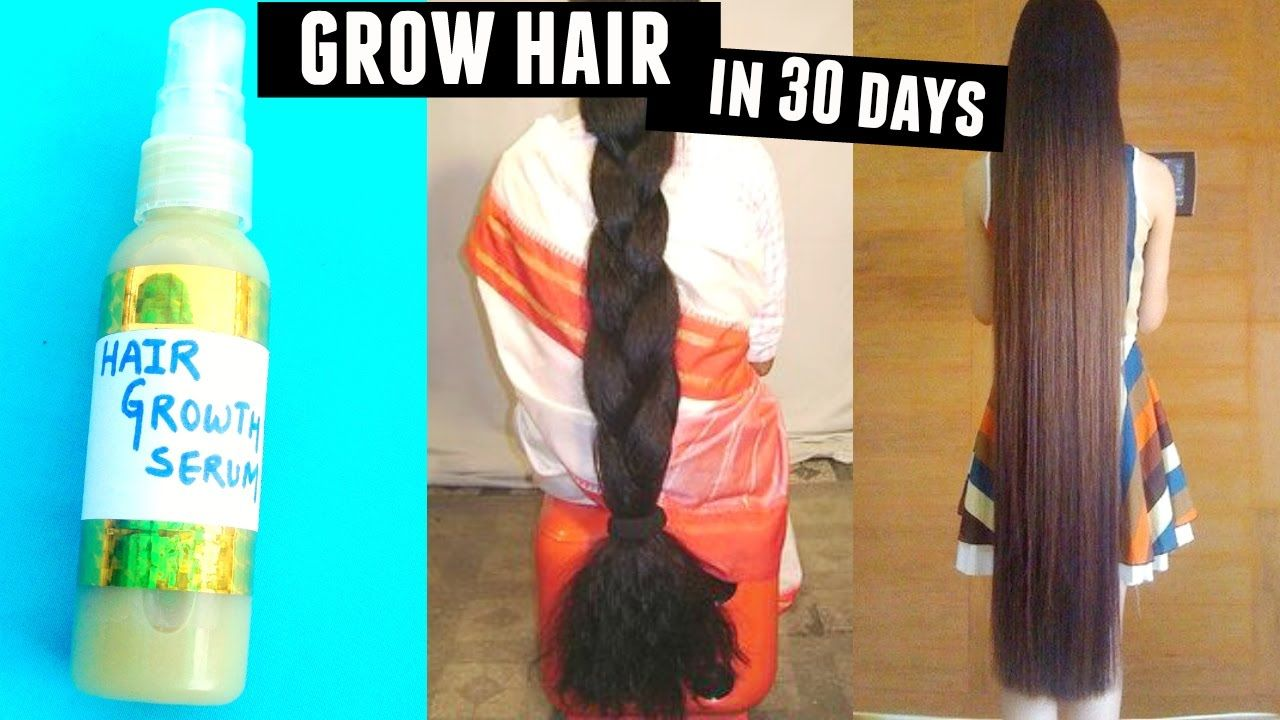 How to get long hair fast!! Magical Hair Growth Serum For Hair Loss ,Gro...