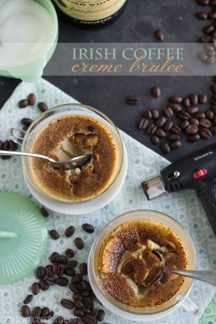 Irish Coffee Creme Brulee #cremebrulée