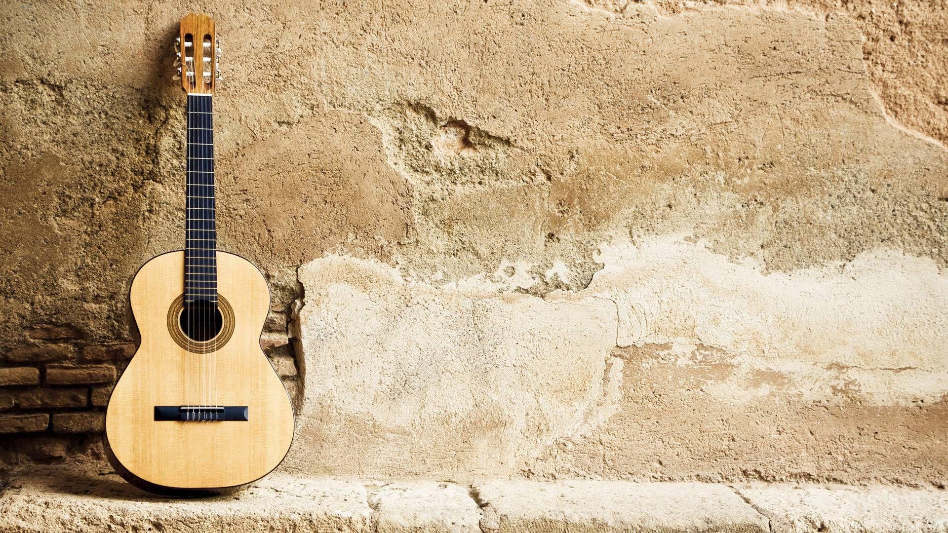 Acoustic Guitar Wallpapers High Resolution With High Resolution 1920x1080 Px 1 44 Mb Guitarra Semi Acustica Violao Guitarra