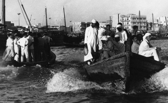 Dubai Creek in the 1960s. AP Photo