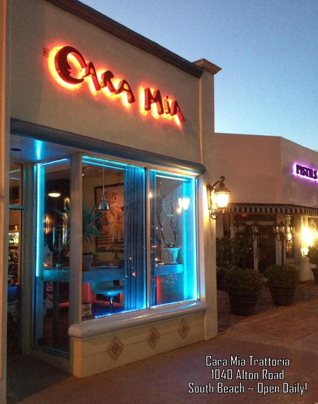 Cara Mia Trattoria Miami Beach Restaurant Reviews Phone Number Photos Tripadvisor