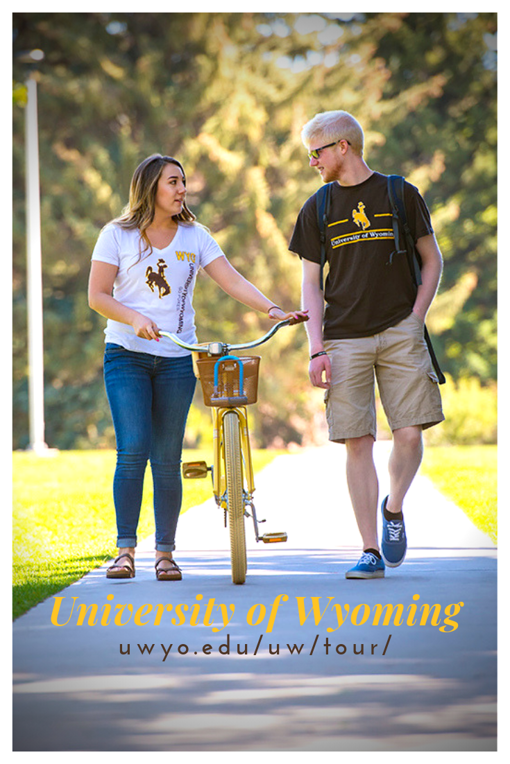 Take a virtual tour of the University of Wyoming campus ...
