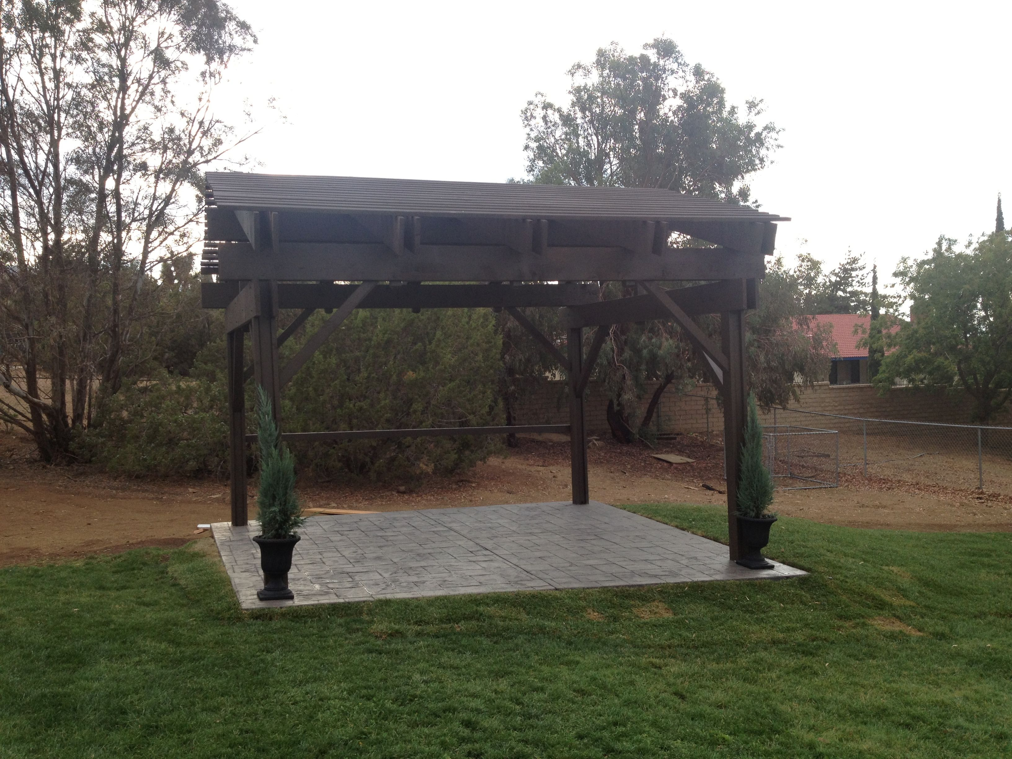 your standing cover how patio own freestanding of ho ideas build from wood covers to free a