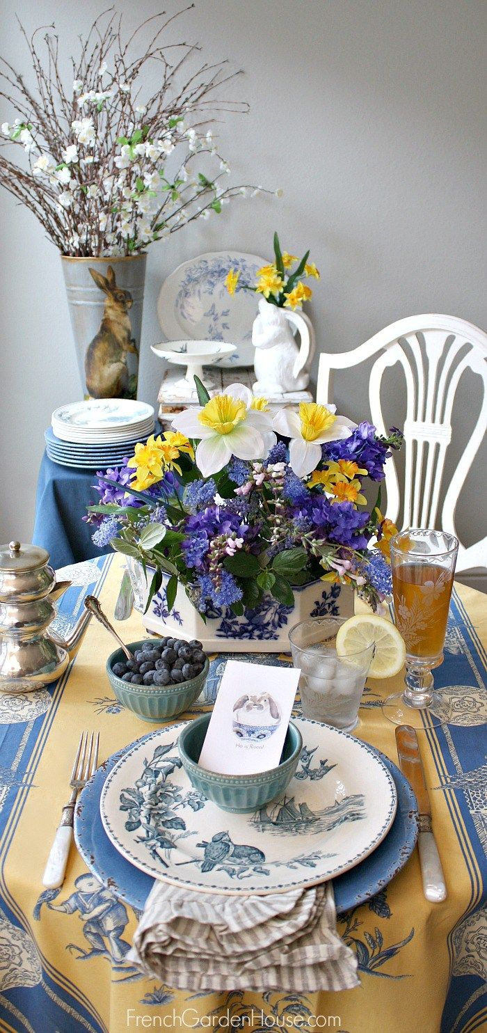Table Setting For Breakfast Tablequenalbertini Easter Breakfast Table French Garden House