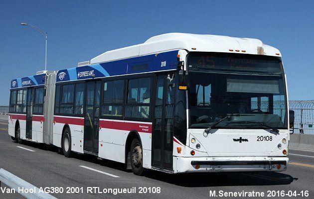 RTLongueuil  Van Hool  AG380