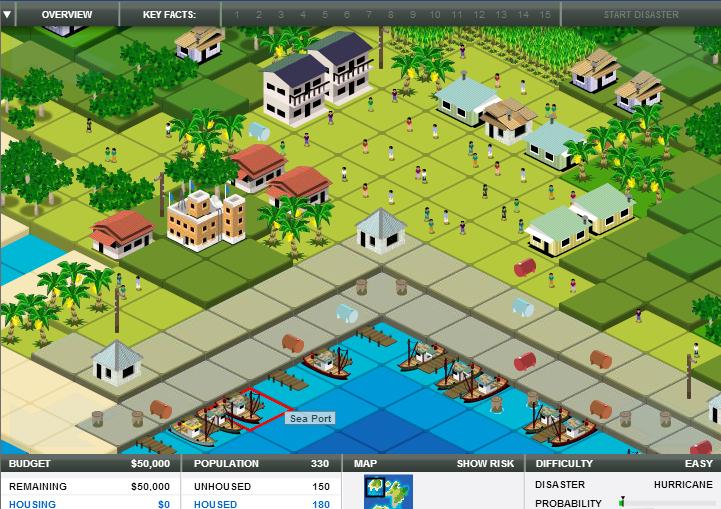 Spil om naturkatastrofer udviklet i samarbejde med FN. Lær om Tsunamier, orkaner, skovbrande, oversvømmelser og jordskælv. Fanger ikke alle - men de, der bliver fanget, kan spille i dagevis.
