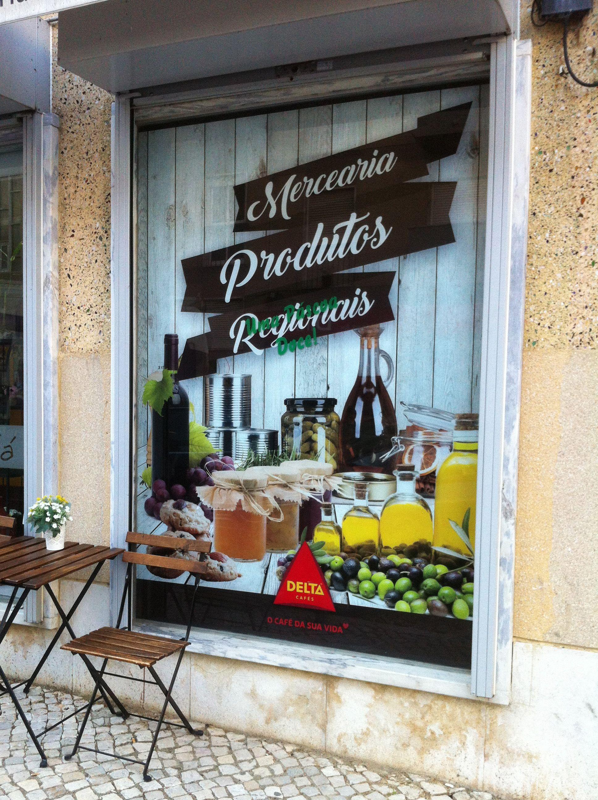 Meganuncius | Vinil de Montra | Pastelaria Docel  www.meganuncius.pt