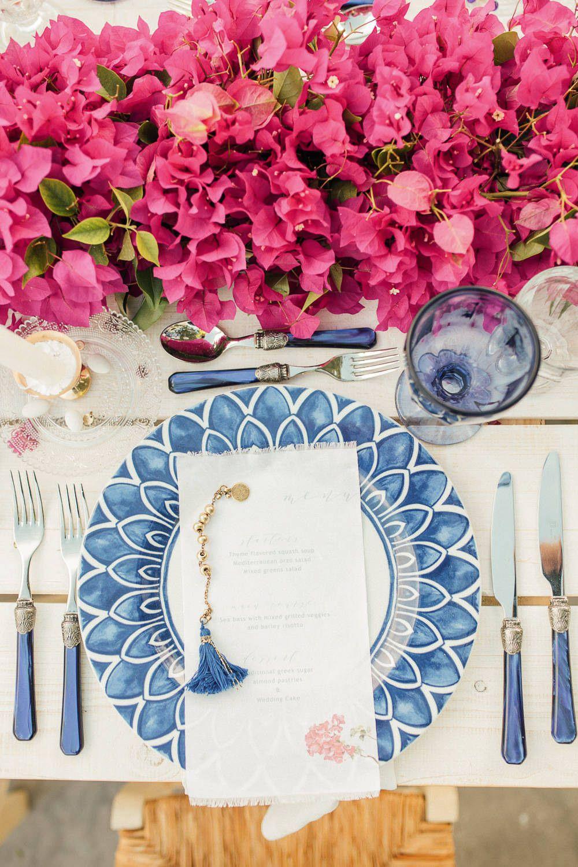 Bougainvillea Inspired Greek Wedding Wedding Photography by
