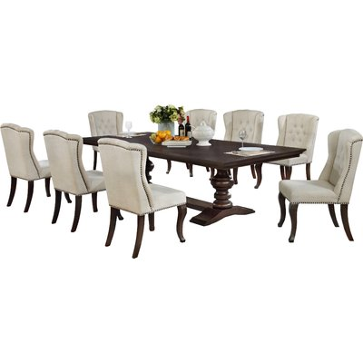 Canora Grey Rolf 9 Piece Extendable Dining Set In 2019