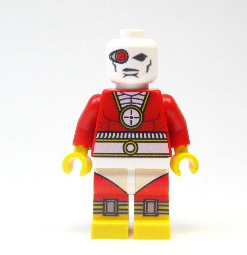 Red Hood Batman 3 Dark Knight Robin lego Custom PAD UV PRINTED Minifig RED HOOD