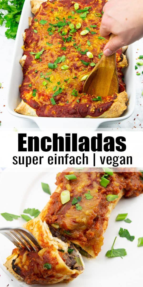 Enchiladas #veganerezepte