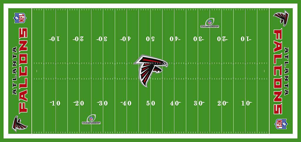 תוצאת תמונה עבור Nfl Logo On Field Nfl Gifts Football Field Nfl Logo