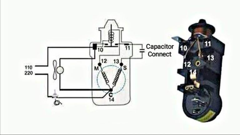 Danfoss Relay Oil And Capacitor Type Connection With Diagram In Urdu Hindi Fully4wor In 2020 Capacitors Refrigeration And Air Conditioning Electrical Circuit Diagram