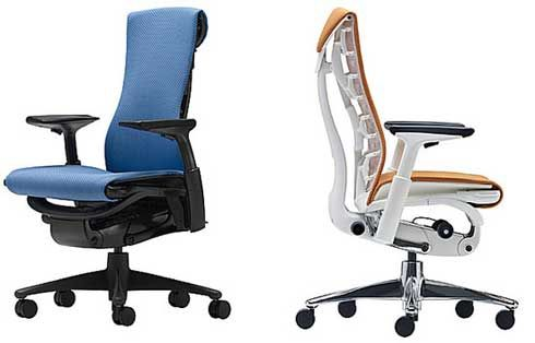 aeron chair upgraded, new from herman miller the embody chair