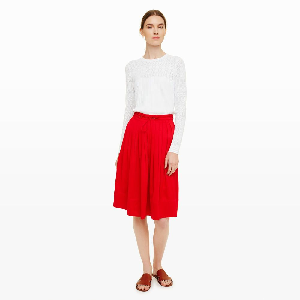 Womens | Maneeza Pleated Skirt | Club Monaco | Pleated skirt