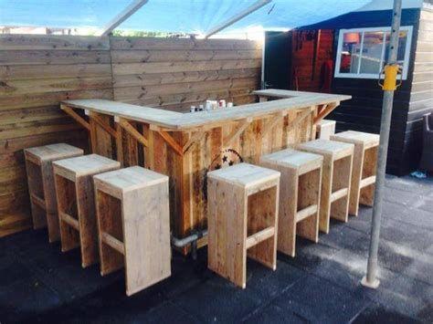 Steigerhout Bar Keuken : Steigerhouten keuken bar chillhok in cafe chairs cafe