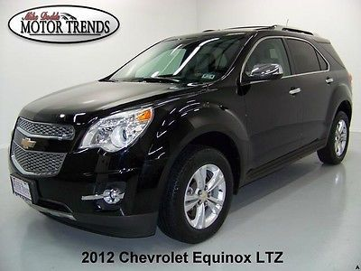 Chevrolet Equinox Ltz Nav Sunroof 2012 Chevy Equinox Ltz Navigation Rearcam Roof Two Tone Leather Heated Seats 42k With Images Toyota Suv Chevy Equinox Chevrolet