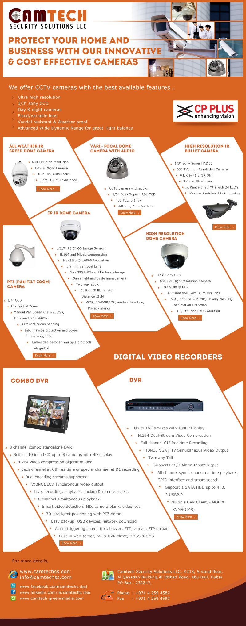 Camtech Security Solutions CCTV Flyer | CCTV Camera | Pinterest ...