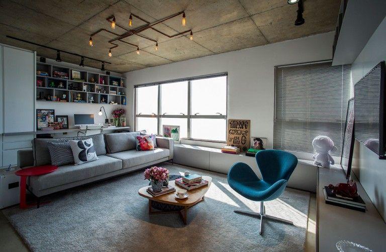 Industriele Loft Woonkamer : Kleine stoere loft woonkamer woonkamer inspiratie house design