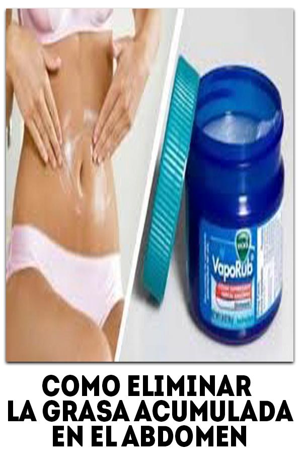 En grasa el como perder abdomen acumulada