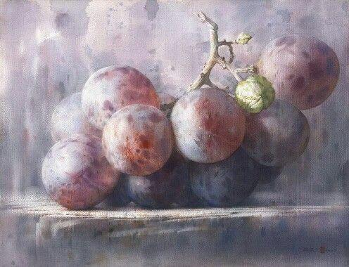 Melusineh Chen Wen Cheng Watercolor Peinture De Nature