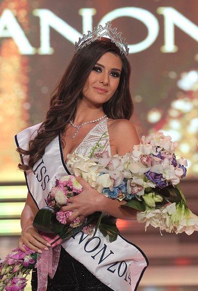 En Photos Sally Jreige Elue Miss Liban 2014 Shinymen Miss Univers 2014 5 Octobre Liban