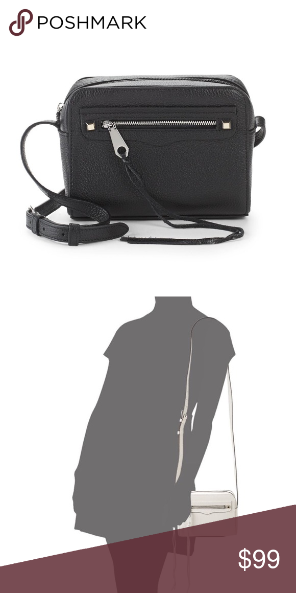 """Rebecca Minkoff Regan Camera Purse Rebecca Minkoff Regan Camera Purse. Leather bag with texture design. Adjustable crossbody strap 23"""" drop. Top zip closure. Silver tone hardware. One exterior zip pocket. One exterior slip pocket. One interior pocket. Lined. 7.5""""W, 6""""H, 3""""D. Leather.  Brand new with tags still attached. No trades.  Price is firm. Rebecca Minkoff Bags #camerapurse Rebecca Minkoff Regan Camera Purse Rebecca Minkoff Regan Camera Purse. Leather bag with texture design. Adjus #camerapurse"""