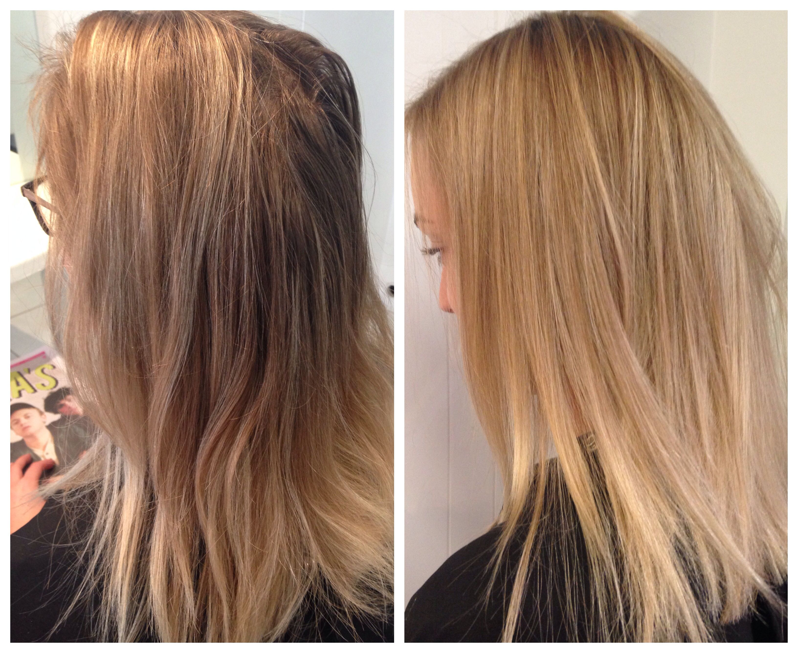 Full Head Foils With Depth Added Into Roots For Soft Contrast