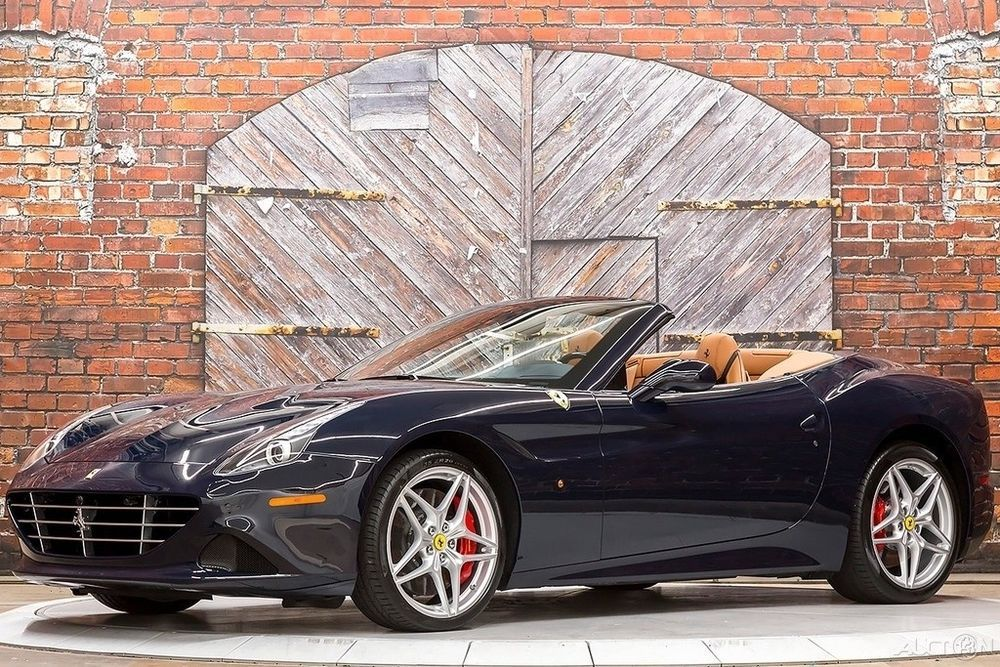 2016 Ferrari California T 16 Turbo V8 Blue 271k MSRP