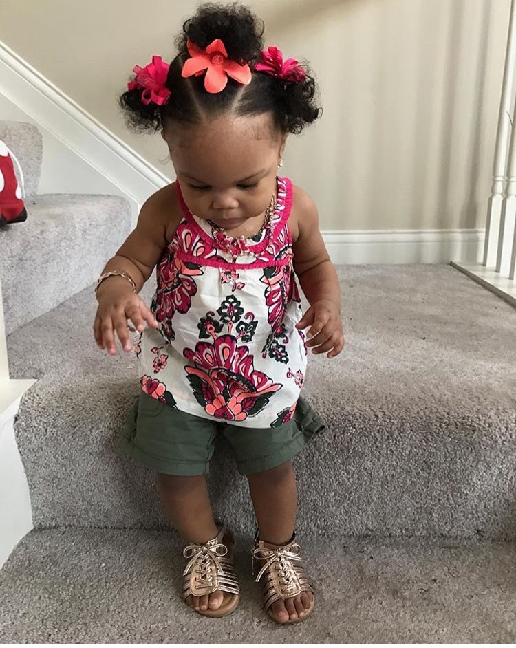 Hairstyles For 1 Year Old Baby Girl : hairstyles, Trudye, Williams, Black, Hairstyles,
